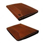 Urbano Leather Folder Case - кожен калъф (естествена кожа) за MacBook Air 13 (кафяв) 3