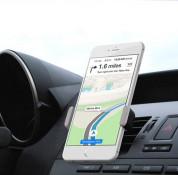 Kenu Airframe Mount - поставка за радиатора на кола за смартфони с дисплеи до 4.8 инча (7.4 см на ширина) (черна) 10