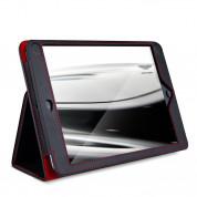Aston Martin Folio FR - луксозен кожен кейс и поставка за iPad mini, iPad mini 2, iPad mini 3 (черен) 2