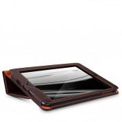 Aston Martin Folio FR - луксозен кожен кейс и поставка за iPad mini, iPad mini 2, iPad mini 3 (кафяв) 3