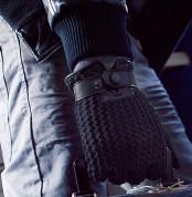 Mujjo Leather Crochet Touchscreen Gloves - луксозни кожени ръкавици за тъч екрани (размер 8) 7