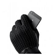 Mujjo Leather Crochet Touchscreen Gloves - луксозни кожени ръкавици за тъч екрани (размер 8) 6