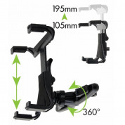 Allsop Headrest Tablet Mount 4