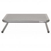 Allsop Metal Art Junior Monitor Stand - алуминиева поставка за MacBook, преносими компютри и монитори (сива) 1