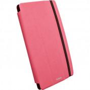 Krusell Malmö Tablet Case Universal L - универсален кожен калъф и поставка за таблети до от 8 до 10.1 инча (розов)