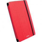 Krusell Malmö Tablet Case Universal S - универсален кожен калъф и поставка за таблети от 6 до 7.9 инча (червен)