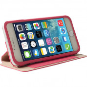 Krusell Malmö Flip Cover with stand for iPhone 6, iPhone 6S (pink)