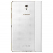 Samsung Simple Cover EF-DT700 - оригинално кожено покритие за Samsung Galaxy Tab S 8.4 (бял) 3