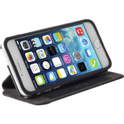 Krusell Malmö Flip Cover with stand for iPhone 6, iPhone 6S (black)