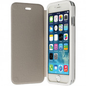 Krusell Donsö FlipCover - leather case for iPhone 6, iPhone 6S (white)