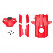 Parrot Rolling Spider Covers and screws - резервен корпус и болтчета за смяна за Parrot Rolling Spider (червен)