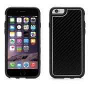 Griffin Identity Graphite - хибриден удароустойчив кейс за iPhone 6, iPhone 6S (черен-бял)