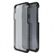iLuv Vyneer Dual Material case - поликарбонатов кейс за iPhone 6, iPhone 6S (черен)