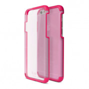 iLuv Vyneer Dual Material case - поликарбонатов кейс за iPhone 6, iPhone 6S (розов)