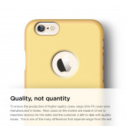 Elago S6 Slim Fit Case + HD Clear Film - case and screen film for iPhone 6, iPhone 6S (yellow) 2