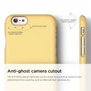 Elago S6 Slim Fit 2 Case + HD Clear Film - качествен кейс и HD покритие за iPhone 6, iPhone 6S (жълт) 1