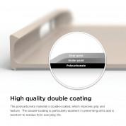 Elago S6 Outfit Aluminum + HD Clear Film - алуминиев кейс и HD покритие за iPhone 6, iPhone 6S (златист) 4