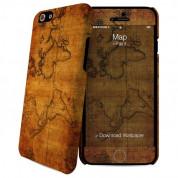 iPaint Map HC Case - дизайнерски поликарбонатов кейс и скин за iPhone 6, iPhone 6S