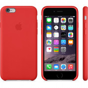 Apple iPhone Leather Case for iPhone 6, iPhone 6S (red) 7