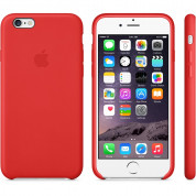 Apple iPhone Leather Case for iPhone 6, iPhone 6S (red) 6