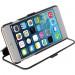 Krusell Donso ViewCase - кожен калъф, тип портфейл с вграден скрийн протектор и поставка за iPhone 6, iPhone 6S (черен) 2