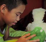 Ubooly Smart Toy - плюшена играчка занимаваща и обучаваща вашето дете за iOS и Android (зелен) 2