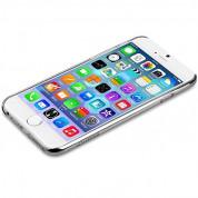Comma Crystal Flora Case - поликарбонатов кейс за iPhone 6, iPhone 6S (с кристали Сваровски) (сребрист) 4