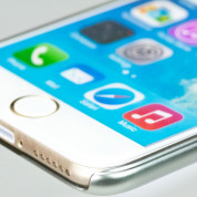 Bling My Thing Extravaganza Case - дизайнерски поликарбонатов кейс с кристали Сваровски за iPhone 6, iPhone 6S (сребрист) 4