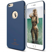 Elago S6P Slim Fit Case + HD Clear Film - case and screen film for iPhone 6 Plus (jeans)