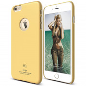 Elago S6P Slim Fit Case + HD Clear Film - case and screen film for iPhone 6 Plus (yellow)