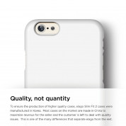 Elago S6P Slim Fit 2 Case + HD Clear Film - case and screen film for iPhone 6 Plus (white) 1