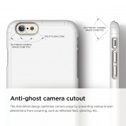 Elago S6P Slim Fit 2 Case + HD Clear Film - case and screen film for iPhone 6 Plus (white) 7