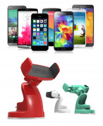 iOttie Easy View 2 Universal Car Mount Holder for smartphones up to 8.9 width (red) 6
