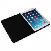 Tucano Filo Hard Folio Case - текстилен калъф с Auto On/Off и поставка за iPad Air 2, iPad Pro 9.7 (розов) 2