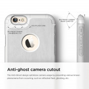 Elago S6 Leather Flip Apple Cut Case for iPhone 6 + HD Professional Extreme Clear film included - [Limited Edition] 8