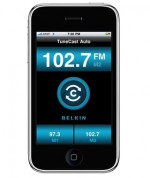 Belkin TuneCast® Auto Live трансмитер с GPS-Assisted Station Locator за iPhone 3