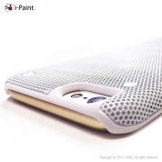 iPaint White MC Case - метален кейс за iPhone 6 Plus, iPhone 6S Plus (бял) 4