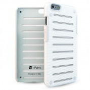 iPaint White MC Case - метален кейс за iPhone 6 Plus, iPhone 6S Plus (бял)