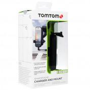 TomTom Holder and Charger Stand - поставка и захранване за мобилни устройства с MicroUSB 1