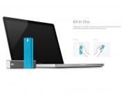 AM Lab Spray - спрей 37.5 ml и кърпичка за професионално почистване на дисплей на смартфони, лаптопи и таблети (син) 3