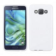 S-Line Cover Case - силиконов (TPU) калъф за Samsung Galaxy A3 (2015) (бял)