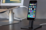 TwelveSouth HiRise Deluxe Desktop stand for iPhone and iPad (black) 1