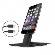 TwelveSouth HiRise Deluxe Desktop stand for iPhone and iPad (black) 4