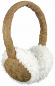 KitSound On-Ear Sheepskin Fur Audio Earmuffs for iPod, iPhone, Smartphone and MP3 Devices  3