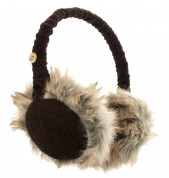 KitSound On-Ear Cord Fur Audio Earmuffs for iPod, iPhone, Smartphone and MP3 Devices  2