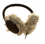 KitSound On-Ear Cord Fur Audio Earmuffs for iPod, iPhone, Smartphone and MP3 Devices  3