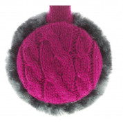 KitSound On-Ear Fur Audio Earmuffs for iPod, iPhone, Smartphone and MP3 Devices  4