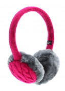 KitSound On-Ear Fur Audio Earmuffs for iPod, iPhone, Smartphone and MP3 Devices  2