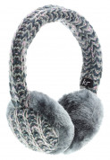 KitSound On-Ear Multi Lurex Knit Audio Earmuffs for iPod, iPhone, Smartphone and MP3 Devices (gray) 2