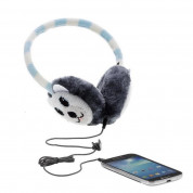 KitSound On-Ear Polar Bear Audio Earmuffs - ушанки с вградени слушалки с 3.5 мм аудио жак за iPhone и мобилни устройства  4